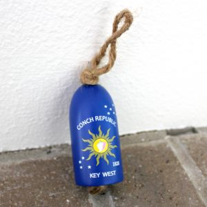 Little Key West Conch Republic Buoy Ornament-2